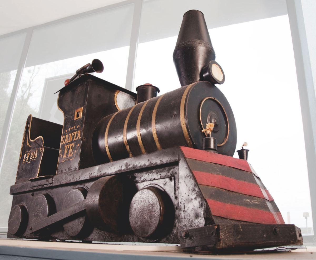 Máquina de vapor de carrusel 1923